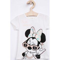 Name it - Top dziecięcy Disney Minnie Mouse 80-110 cm. Szare bluzki dziewczęce marki Name it, l, z motywem z bajki, z bawełny, z okrągłym kołnierzem. Za 59,90 zł.