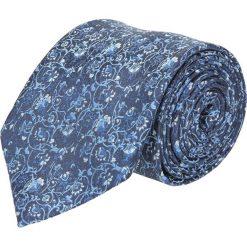 Krawat platinum granatowy classic 266. Niebieskie krawaty męskie Recman. Za 49,00 zł.