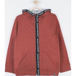 Bluza. Czerwone bluzy chłopięce rozpinane SKATE CLUB, z bawełny, z długim rękawem, długie, z kapturem. Za 99,90 zł.