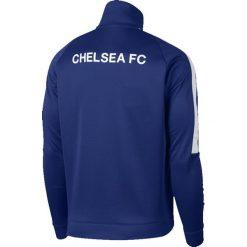 Bejsbolówki męskie: Nike Bluza męska Chelsea FC Franchise Jacket niebieska r. S (905477 417)