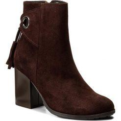 Botki SERGIO BARDI - Avola FW127254517AG 434. Brązowe buty zimowe damskie Sergio Bardi, ze skóry, na obcasie. W wyprzedaży za 239,00 zł.