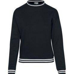 Bluzy damskie: Urban Classics Ladies College Sweat Crew Bluza damska czarny