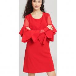Czerwona Sukienka Aognizant. Czerwone sukienki hiszpanki other, uniwersalny, mini. Za 69,99 zł.