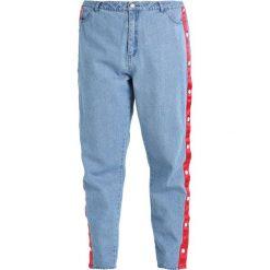 Boyfriendy damskie: Daisy Street Plus POPPER MOM Jeansy Relaxed Fit mid blue