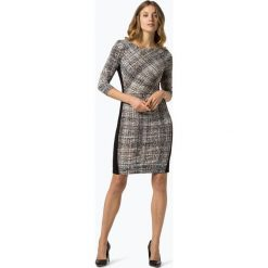 LAUREN RALPH LAUREN - Sukienka damska, czarny. Czarne sukienki balowe marki Lauren Ralph Lauren, uniwersalny, z kontrastowym kołnierzykiem. Za 749,95 zł.