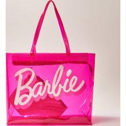 Torby i plecaki: Torba barbie z kosmetyczką - Różowy