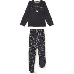 Odzież dziecięca: Piżama z weluru ze stopami 2-12 lat