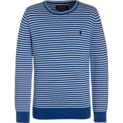 Swetry dziewczęce: Polo Ralph Lauren STRIPE  Sweter dockside blue heather