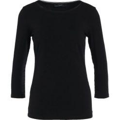 Bluzki asymetryczne: WEEKEND MaxMara Bluzka z długim rękawem nero