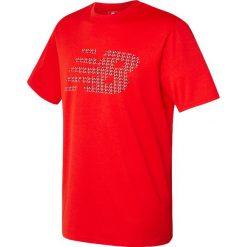 Koszulka treningowa - MT630146AMH. Czerwone koszulki do piłki nożnej męskie marki New Balance, na jesień, m, z materiału. Za 79,99 zł.