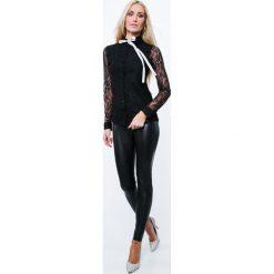 Koszula koronkowa czarna MP25998. Czarne koszule damskie Fasardi, l, z koronki. Za 49,00 zł.
