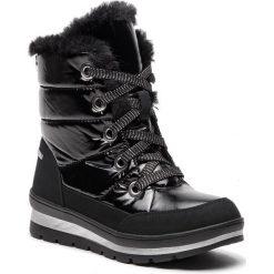 Śniegowce CAPRICE - 9-26221-21 Black Comb 019. Czarne buty zimowe damskie Caprice, z materiału. W wyprzedaży za 219,00 zł.