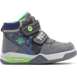Szare Buty Sportowe Monsoon. Szare buty sportowe chłopięce Born2be, z materiału, z okrągłym noskiem, na zamek. Za 59,99 zł.
