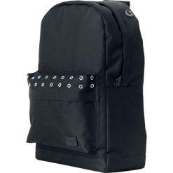 Plecaki męskie: Spiral UK Black Eyelet Plecak czarny