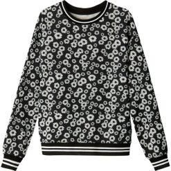 Bluzy rozpinane damskie: Bluza w stylu vintage w kwiaty