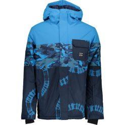 Kurtka narciarska w kolorze niebiesko-granatowym. Niebieskie kurtki męskie marki Billabong, m, moro. W wyprzedaży za 385,95 zł.