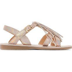 Sandały dziewczęce: Sandały skórzane FABULA