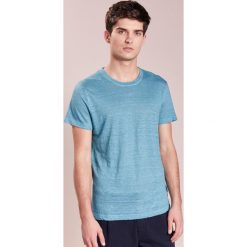 Koszulki polo: 120% Lino UOMO GIROCOL Tshirt basic jade gricon
