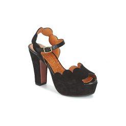 Sandały Chie Mihara  XEVA. Czarne sandały damskie Chie Mihara. Za 983,20 zł.