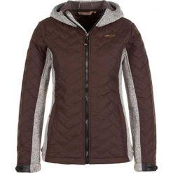 Odzież damska: Kurtka zimowa w kolorze brązowym