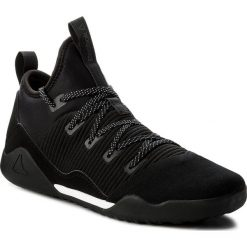 Buty Reebok - Combat Noble Trainer CN0744 Black/White. Szare buty do fitnessu damskie marki Reebok, l, z dzianiny, z okrągłym kołnierzem. W wyprzedaży za 349,00 zł.