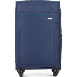 Walizka duża V25-3S-263-90. Niebieskie walizki marki Wittchen, duże. Za 179,00 zł.
