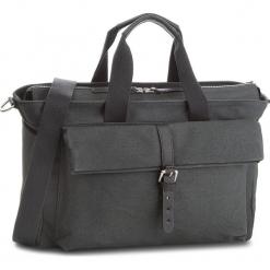 Torebka CLARKS - The Herston 261382530  Dark Grey. Czarne torebki klasyczne damskie Clarks, z materiału, duże. W wyprzedaży za 349,00 zł.