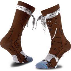 Skarpety Wysokie Męskie STANCE - Tupac M545A17TUP  Brown. Czerwone skarpetki męskie marki Happy Socks, z bawełny. Za 99,00 zł.