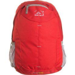 """Plecak """"Singer"""" w kolorze czerwono-szarym - 30 x 45 x 15 cm. Czerwone plecaki męskie Elementerre, z tkaniny. W wyprzedaży za 39,95 zł."""