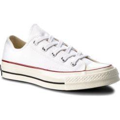 Trampki CONVERSE - Ctas 70 Ox 149448C White/Red/Black. Czarne trampki męskie marki Converse, z materiału. W wyprzedaży za 259,00 zł.