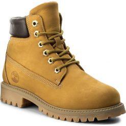 Trapery PRIMIGI - Mirco 6155000 D Giallone. Żółte buty zimowe chłopięce marki Primigi, z materiału. W wyprzedaży za 179,00 zł.