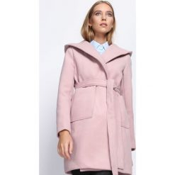 Płaszcze damskie: Różowy Płaszcz Winter Glow
