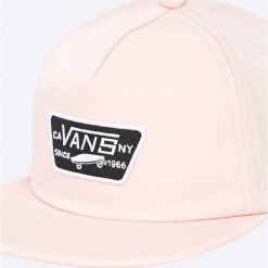 Vans - Czapka. Szare czapki z daszkiem damskie marki Vans, z nylonu. Za 169,90 zł.