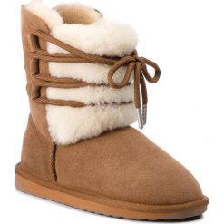Buty EMU AUSTRALIA - Sorby W11789 Chestnut. Szare buty zimowe damskie marki EMU Australia, z gumy. Za 769,00 zł.