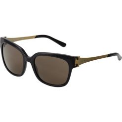 Tory Burch Okulary przeciwsłoneczne black. Czarne okulary przeciwsłoneczne damskie aviatory Tory Burch. Za 719,00 zł.