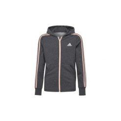 Bluzy dresowe Dziecko adidas  Bluza z kapturem Essentials 3-Stripes Hoodie. Czarne bluzy chłopięce rozpinane marki Nike. Za 199,00 zł.