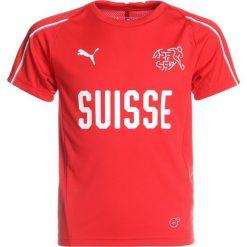 T-shirty chłopięce: Puma SCHWEIZ Koszulka reprezentacji puma red