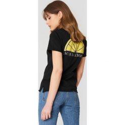 Acqua Limone T-shirt Classic - Black. Zielone t-shirty męskie marki Emilie Briting x NA-KD, l. Za 202,95 zł.