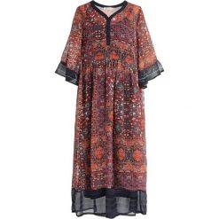 Cream LAVY DRESS Sukienka letnia scarlet orange. Czerwone sukienki letnie Cream, z materiału. Za 549,00 zł.