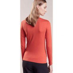Bluzki asymetryczne: WEEKEND MaxMara Bluzka z długim rękawem rosso scuro