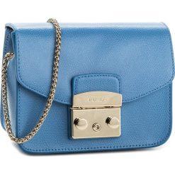 Torebka FURLA - Metropolis 914336 B BGZ7 ARE Celeste c. Niebieskie torebki klasyczne damskie marki Furla, ze skóry. Za 829,00 zł.