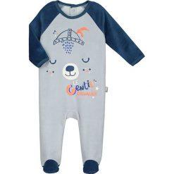 Śpiochy niemowlęce: Śpioszki w kolorze szarym
