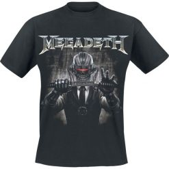 Megadeth Rust In Peace Sword T-Shirt czarny. Czarne t-shirty męskie Megadeth, l. Za 74,90 zł.