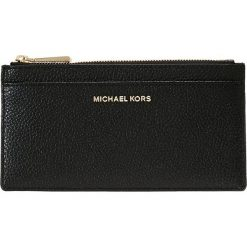 MICHAEL Michael Kors MONEY PIECES SLIM CARD CASE Portfel black. Czarne portfele damskie marki MICHAEL Michael Kors. Za 359,00 zł.