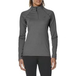 Asics Bluza damska LS 1/2 Zip Jersey szara r. L (141647-0773). Szare bluzy sportowe damskie Asics, l, z jersey. Za 226,15 zł.
