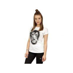 Koszulka UNDERWORLD Ring spun cotton Lion. Białe t-shirty damskie Underworld, m, z nadrukiem, z bawełny. Za 59,99 zł.