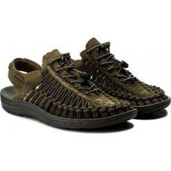 Sandały męskie: Keen Sandały męskie Uneek Leather Dark Olive/Black Olive r. 41 (1017875)