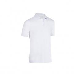 Koszulka polo do golfa 900 męska. Czarne koszulki polo marki GALVANNI, m, w kolorowe wzory, z bawełny. Za 79,99 zł.