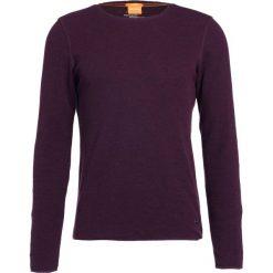 Swetry klasyczne męskie: BOSS Orange TERRIS SLIM FIT Sweter bordeaux