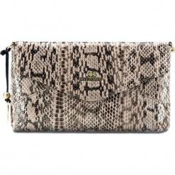 Torebka damska 19-4-557-B. Brązowe torebki klasyczne damskie Wittchen, w paski, małe. Za 489,00 zł.